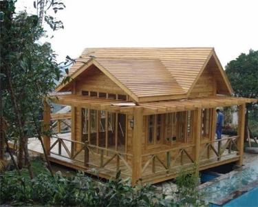 山西防腐木木屋,太原防腐木木屋